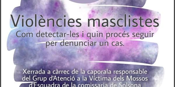 Xerrada sobre violències masclistes