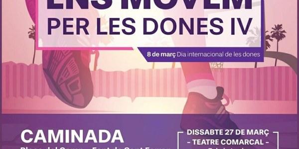 L'Associació de Dones del Solsonès commemora el 8 de març amb una caminada i un concert de Meritxell Gené
